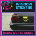 STUD MUFFIN CAR WINDOW VINYL STICKER DECAL LAPTOP GRAPHICS NOVELTY GIFT